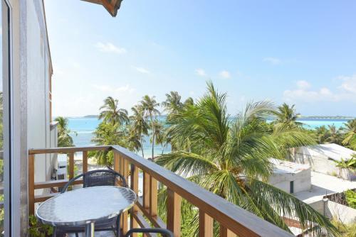 Ein Balkon oder eine Terrasse in der Unterkunft Ocean Retreat and Spa
