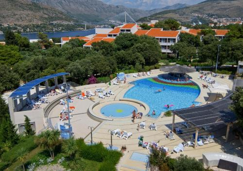 A view of the pool at Tirena Sunny Hotel by Valamar or nearby
