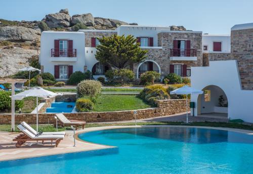 The swimming pool at or near Naxos Palace Hotel