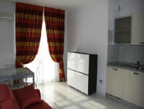 Cuisine ou kitchenette dans l'établissement Residence Montegrappa
