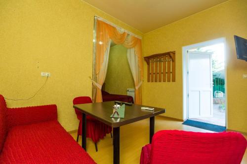 Телевизор и/или развлекательный центр в 5 zvezd Mini-hotel