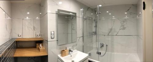Ванная комната в CE Apartment Castle View
