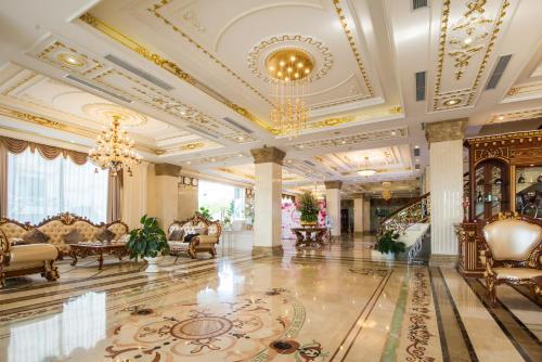Hall ou réception de l'établissement Seastars Hotel Hai Phong
