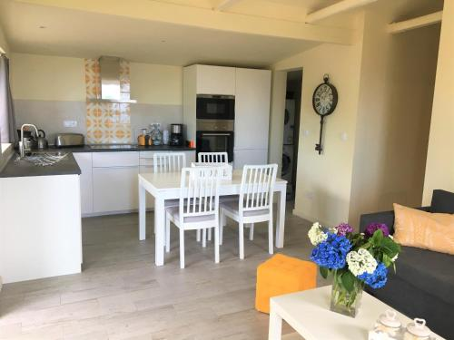 A cozinha ou cozinha compacta de Casa do Almance