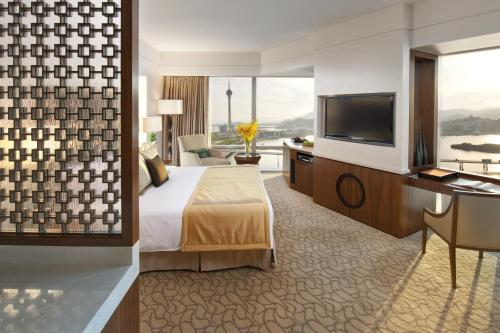 A television and/or entertainment center at Mandarin Oriental Macau