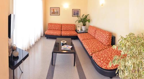 Posezení v ubytování Pensione Villa Joli