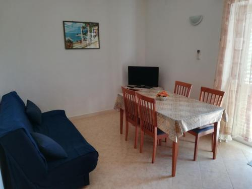 A television and/or entertainment center at Apartments Jelić