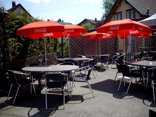 A restaurant or other place to eat at Restaurant Hotel Stossplatz