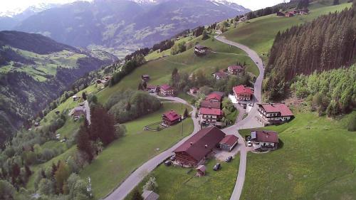 A bird's-eye view of Bauernhaus Tummenerhof