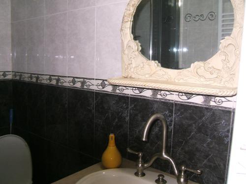 Et badeværelse på Tina's Homestay