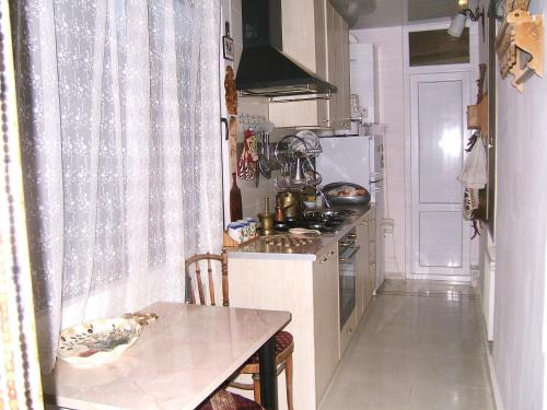 A kitchen or kitchenette at Tina's Homestay