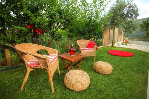 A garden outside Villas de Aire