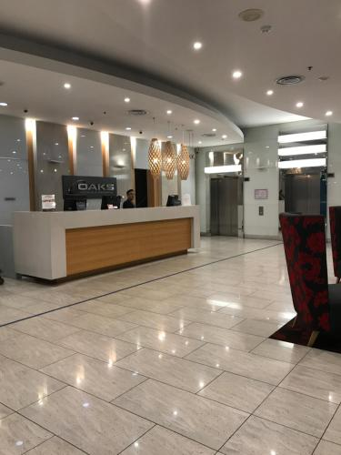 The lobby or reception area at 96 North Terrace