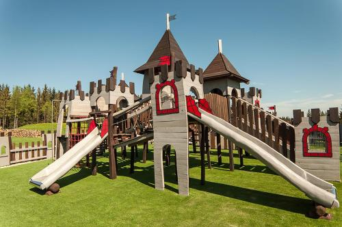 Children's play area at Hotel Nosalowy Dwór