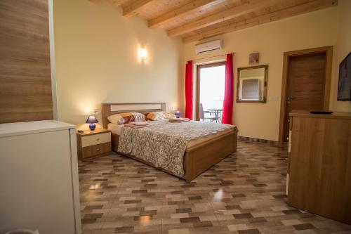 A bed or beds in a room at Nice place