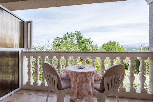 A balcony or terrace at Vila Milcetic