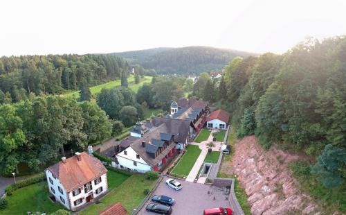 A bird's-eye view of Naturhotel Rügers Forstgut
