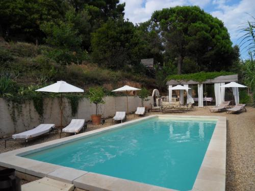The swimming pool at or near Gîte Maison d'Allouma