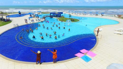 A view of the pool at Makai Resort All Inclusive Convention Aracaju or nearby