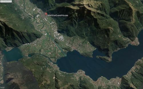 Vista aerea di Valtellinaguesthouse
