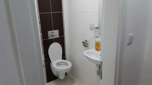 A bathroom at IMC Fatih Apartments