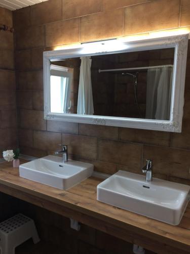 Ein Badezimmer in der Unterkunft Waldhaus Lechner