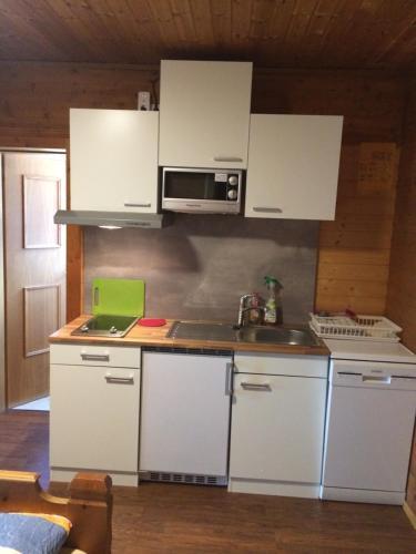 Küche/Küchenzeile in der Unterkunft Waldhaus Lechner