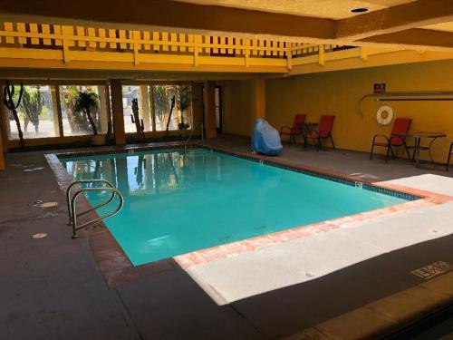 The swimming pool at or near Pacific Inn Santa Cruz