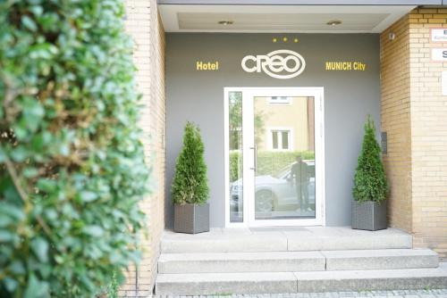The facade or entrance of CREO Munich City
