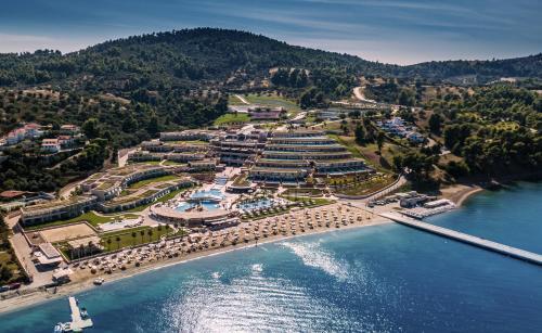 A bird's-eye view of Miraggio Thermal Spa Resort