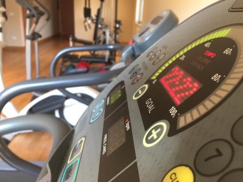 Palestra o centro fitness di Catania International Airport Hotel