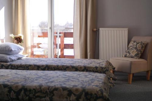 Krevet ili kreveti u jedinici u objektu Guest House Villa Dole