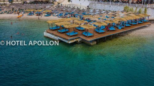 A bird's-eye view of Hotel Apollon