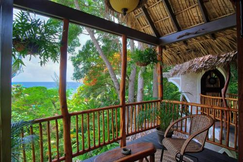 A balcony or terrace at Hermosa Cove Villa Resort & Suites