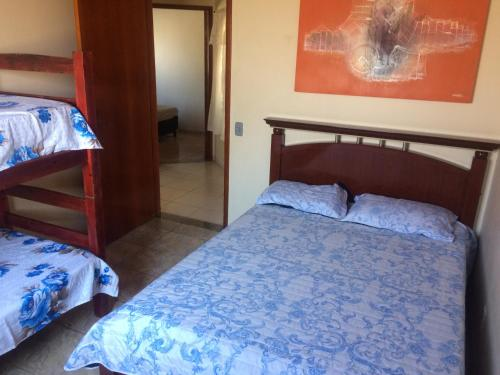 A bed or beds in a room at Villa Florenca