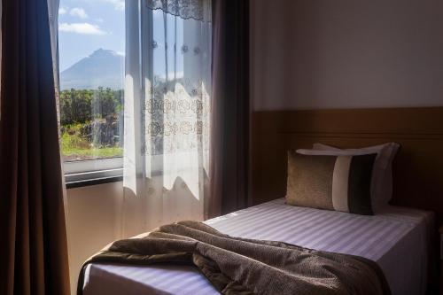 Uma cama ou camas num quarto em Vila Barca