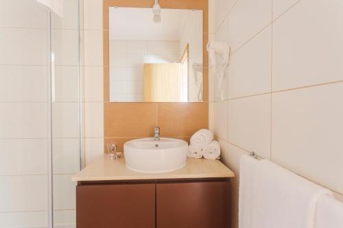 Uma casa de banho em Vila Barca