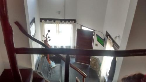 A television and/or entertainment center at Casa El Mortero