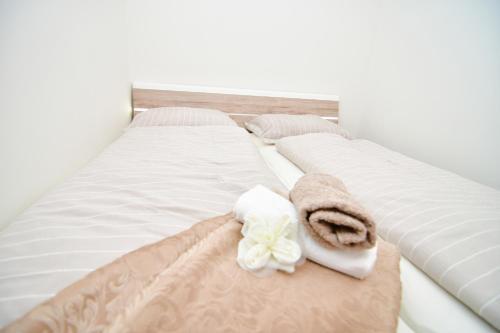 Postel nebo postele na pokoji v ubytování Apartment Pistany