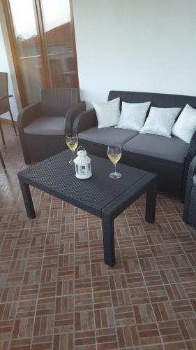Area soggiorno di Morosini apartment