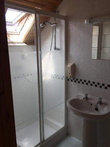 A bathroom at Blossom Hill