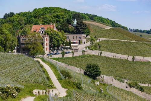 A bird's-eye view of Schlosshotel Steinburg