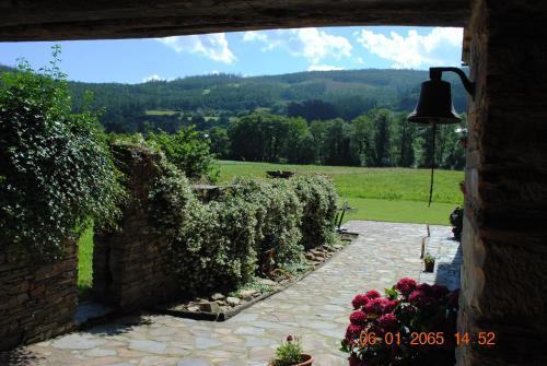 A general mountain view or a mountain view taken from the country house
