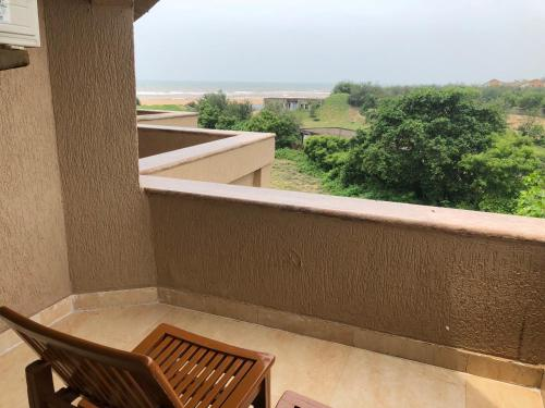 A balcony or terrace at The Chariot Resort and Spa