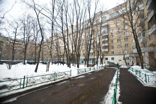 Nice Flats Smolenskaya during the winter