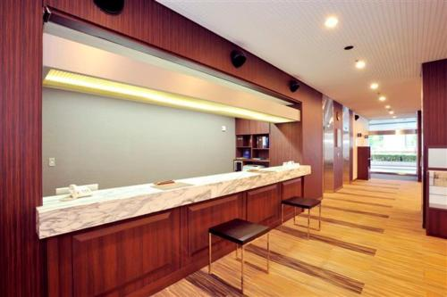 The lobby or reception area at Daini Fuji Hotel