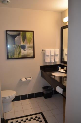 Ванная комната в Fairfield Inn & Suites by Marriott Sault Ste. Marie