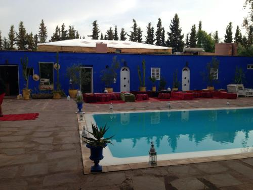 The swimming pool at or near Le Bled Ferme