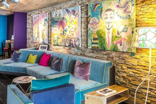 Ein Sitzbereich in der Unterkunft TUI BLUE Schladming