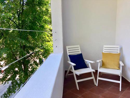 A balcony or terrace at VIU Haffnera 21